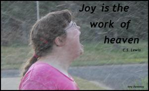 Joy is the work of heaven